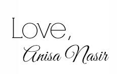 Love, Anisa Nasir